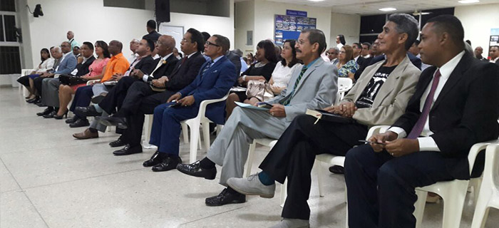 Consejo Evangélico de Santiago CES juramenta su nueva directiva 2017-2019