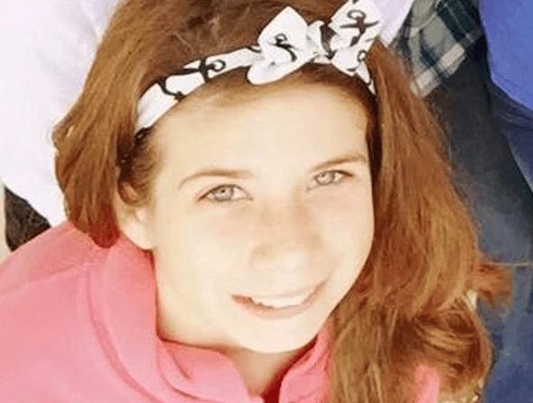 Haley Krueger, de 16 años.