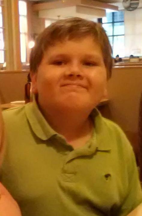 Gregory hill, de 13 años.