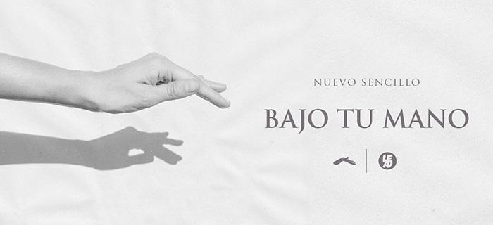Lead lanza nuevo sencillo «Bajo tu mano»