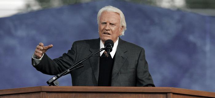 """""""Defiendan el evangelio a cualquier costo"""" pidió Billy Graham en su testamento"""
