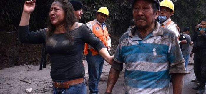 Al menos 25 muertos tras una erupción del Volcán de Fuego en Guatemala
