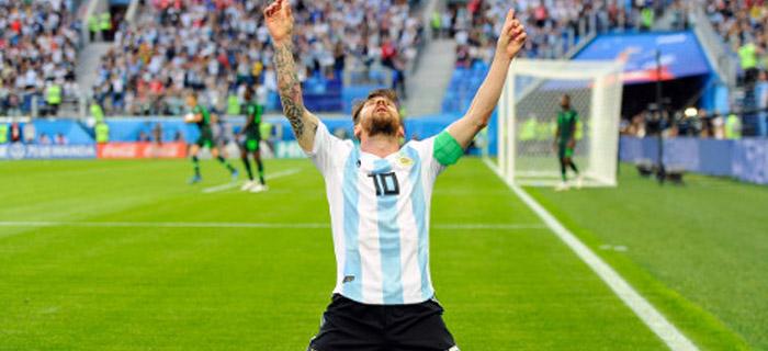 Lionel Messi le da la gloria a Dios por ser buen jugador