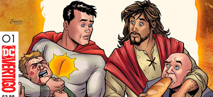 DC Comics transforma a Jesús en superhéroe distorsionando la Biblia