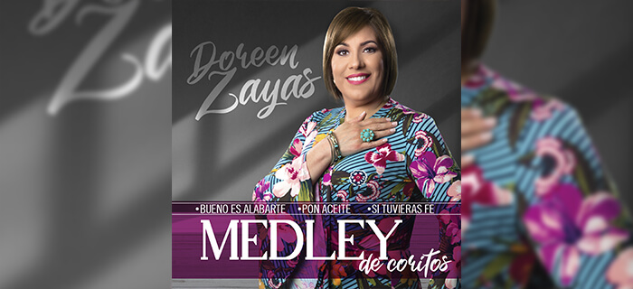 """Doreen Zayas – Medley de coritos """"Bueno es alabarte, Pon Aceite y Si tuvieras Fe"""""""