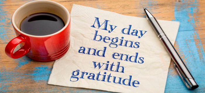 REFLEXIÓN: Con gratitud