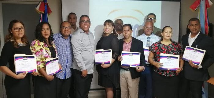 ADOCOC juramenta directiva Filial Provincia Sánchez Ramírez