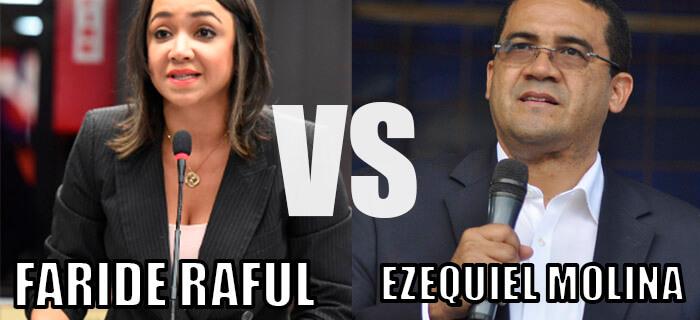 Ezequiel Molina Sánchez manda a no votar por Faride Raful