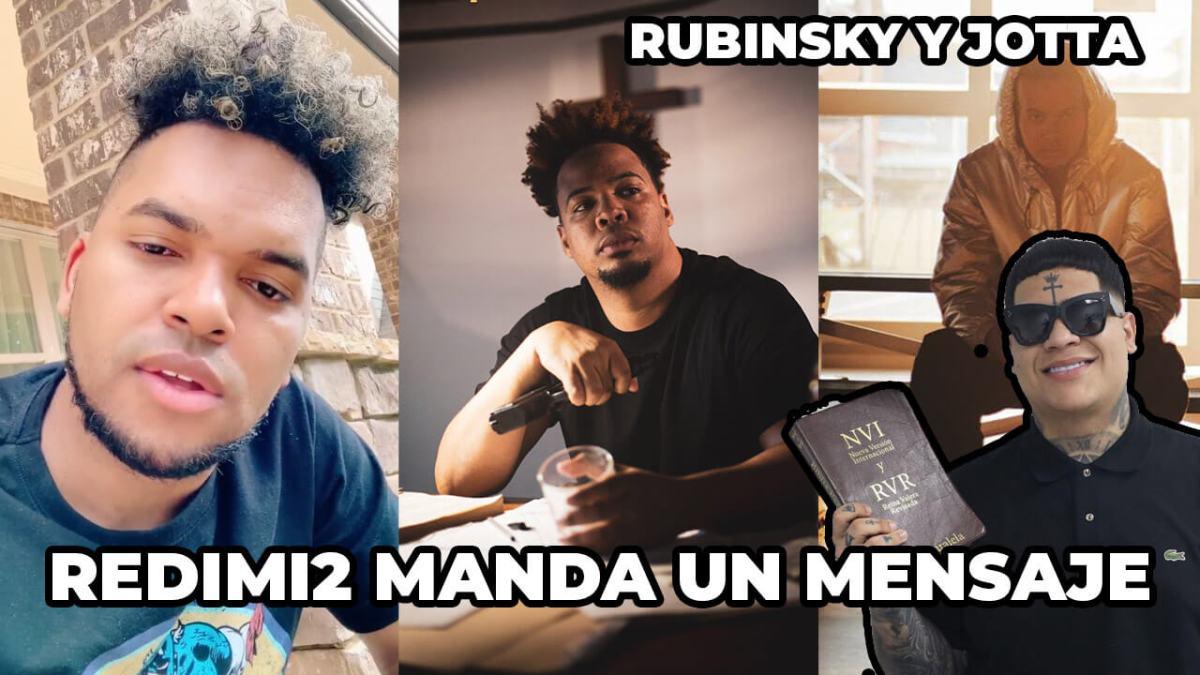 REDIMI2 envía un MENSAJE | ALMIGHTY ADMITE que COMETIÓ un ERROR | RUBISNKY y JOTTA