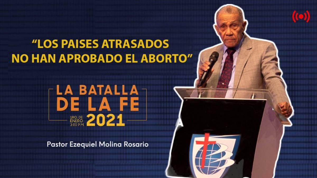 Pastor Ezequiel Molina AREMETE CONTRA EL AB0RTO EN SUS 3 CAUSALES