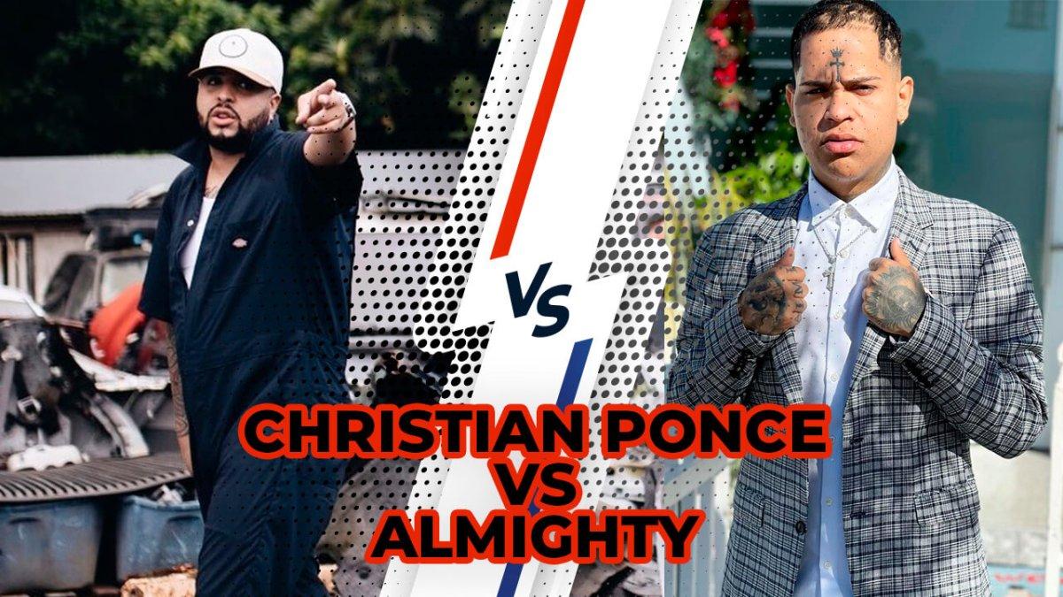 LO QUE REALMENTE PASA ENTRE ALMIGHTYT Y CHRISTIAN PONCE (EL SICA)