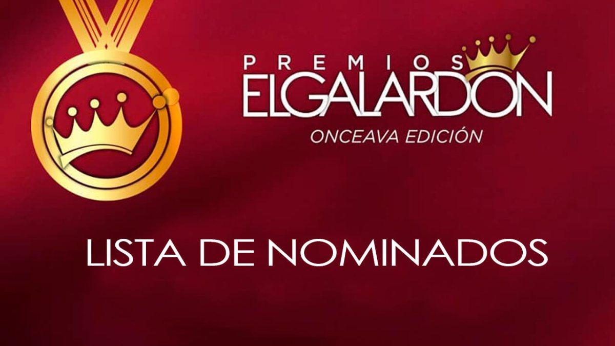 Lista de nominados Premios El Galardón 2021 Rep. Dom.