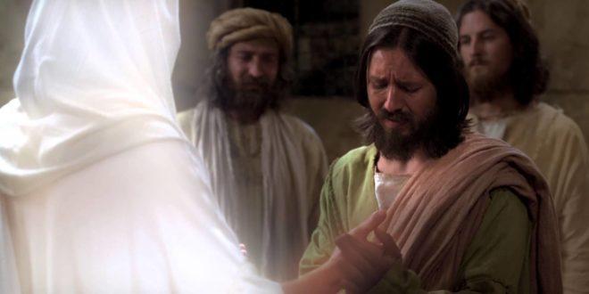 Resultado de imagen para Día litúrgico: Domingo II (A) (B) (C) de Pascua  Texto del Evangelio (Jn 20,19-31): (…) Tomás, uno de los Doce, llamado el Mellizo, no estaba con ellos cuando vino Jesús. Los otros discípulos le decían: «Hemos visto al Señor». Pero él les contestó: «Si n