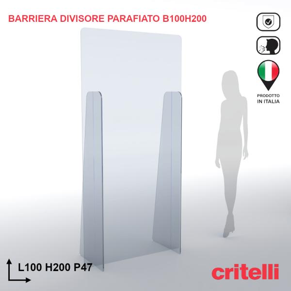 barriera parafiato divisorio BARDIV100H200XL