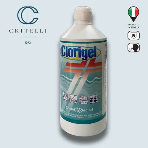 Clorigel detergente decontaminante in gel