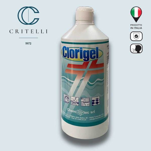 Clorigel detergente decontaminante in gel