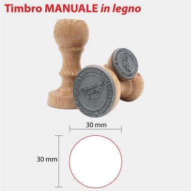 MANUALE IN LEGNO 30x30