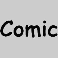 Carattere Font Comic Sans