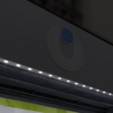 Illuminazione vano vetrina