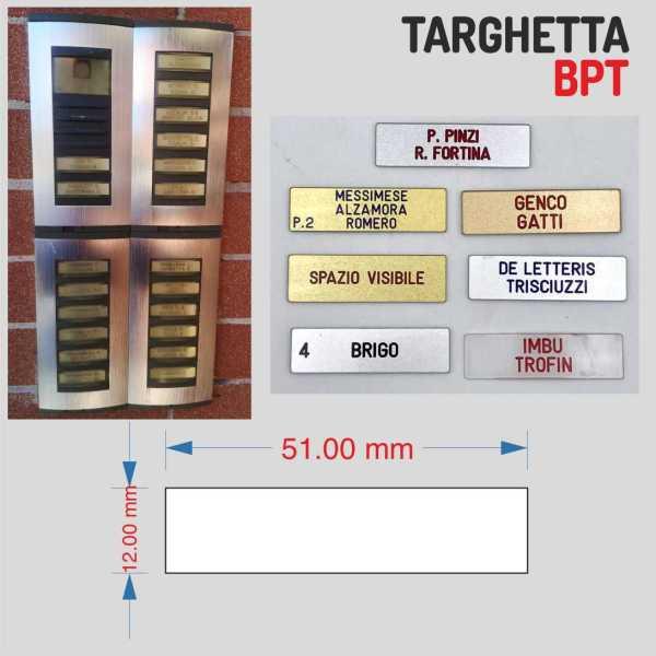 TARGHETTA-CITOFONO-BPT-51X12