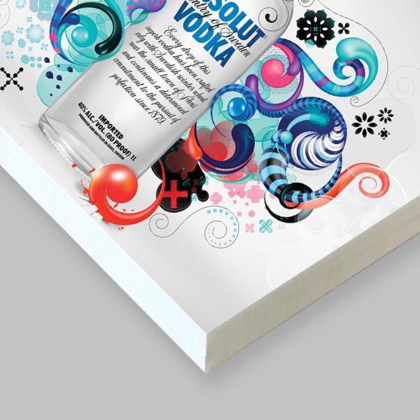Cartello pannello in forex pvc 10 mm stampato a colori