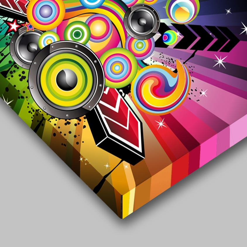 Pannello cartello in alluminio scatolato stampato a colori