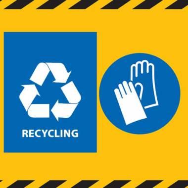 Servizio di rimozione, smaltimento e rottamazione targhe e insegne con relativa autorizzazione rifiuti speciali