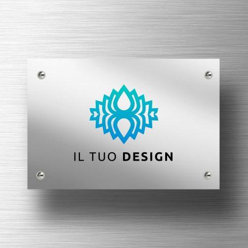 targa-personalizzata-in-alluminio-argento-lucido