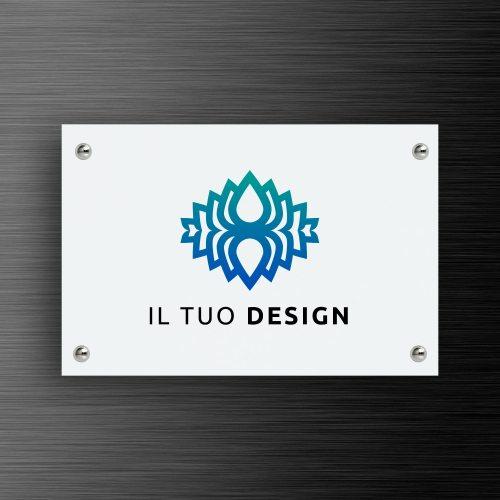 targa-personalizzata-in-alluminio-bianco