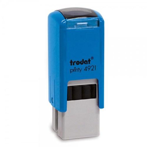 Timbro Autoinchiostrante Blu 12x12mm Trodat Printy 4921