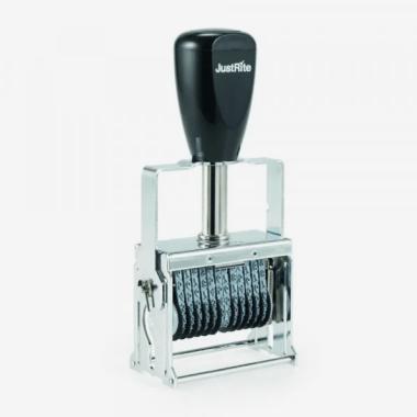 Timbro Autoinchiostrante JUSTRITE Numeratore SIN 00-14 14 colonne 2mm