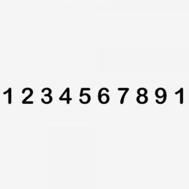 Trodat Classic 151510 Timbro Numeratore 10 colonne 15 mm