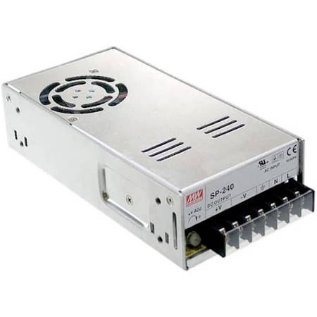 Trasformatore meanwell doppia frequenza 240 Watt 12 V autoregolante professionale