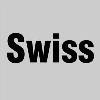 Font Swiss Condensed