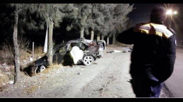 Mueren cinco menores tras accidente, el auto era conducido por un niño de 12 años