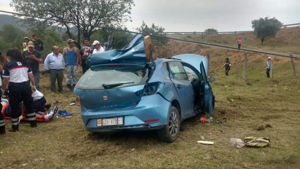 Muere mujer tras accidente en Omitlán