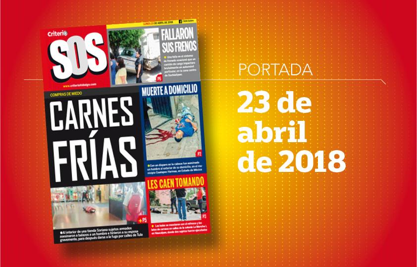Portada SOS 23 abril 2018