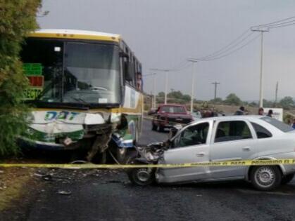 Otra vez un ODT: 4 muertos tras accidente cerca de la México - Pachuca