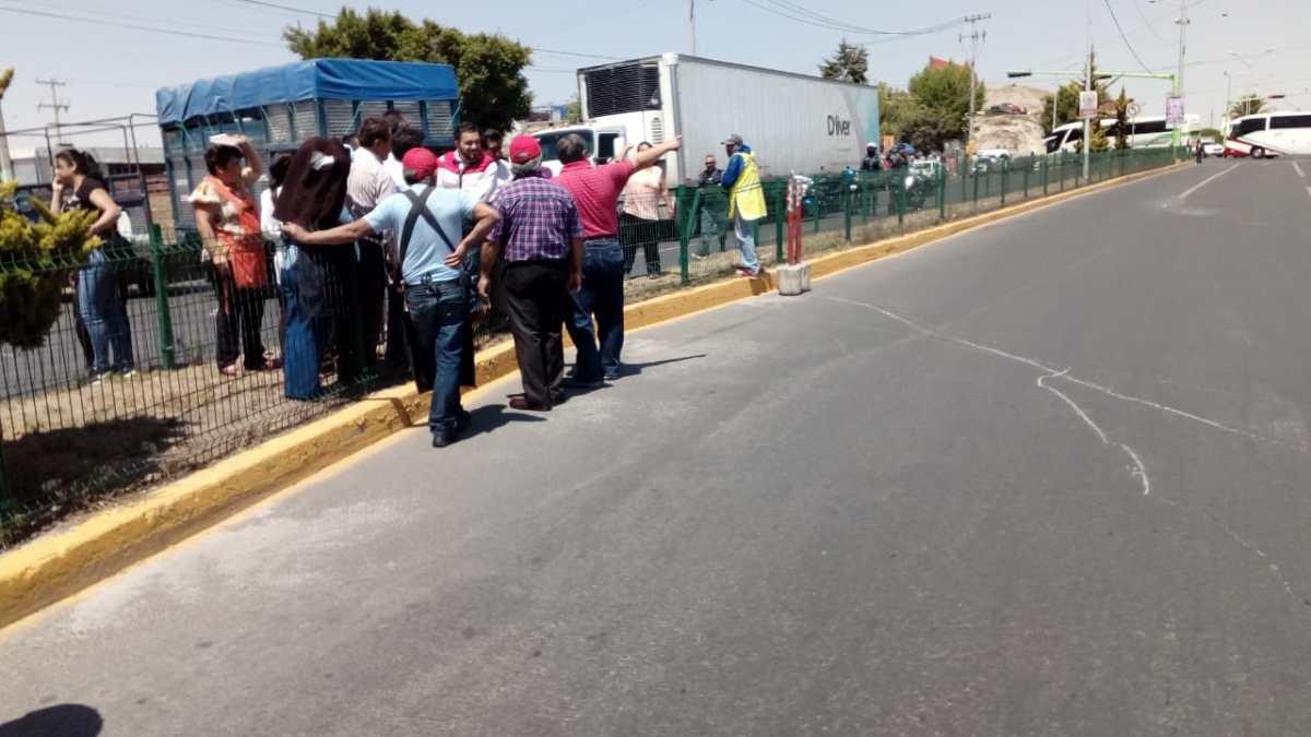 Restablecen circulación en el bulevar Javier Rojo Gómez de Pachuca