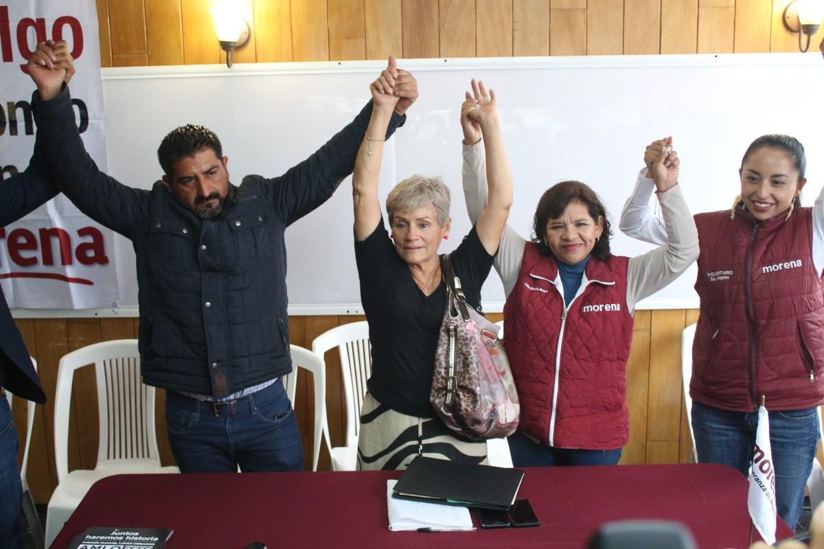 Candidatos del frente declinan a favor de Morena en Zacualtipán y Tizayuca