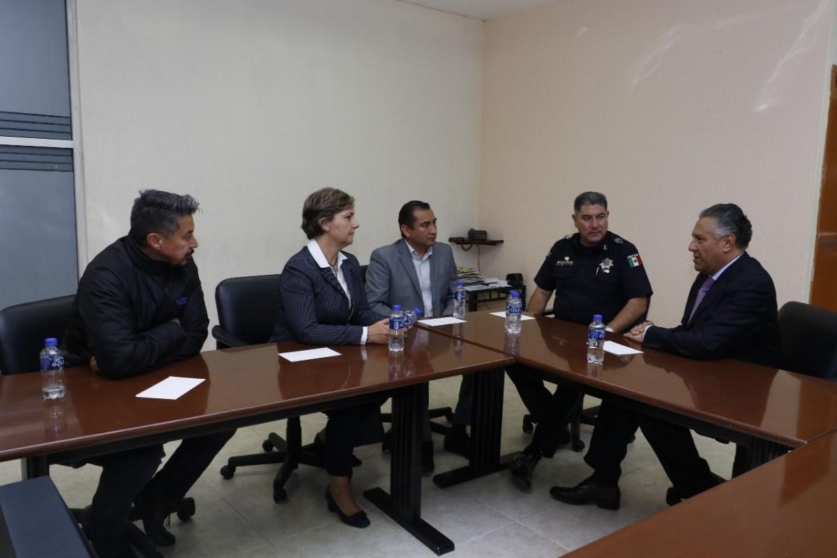 Se reúnen alcaldía de Pachuca y PGJEH para seguimiento de caso Olayet