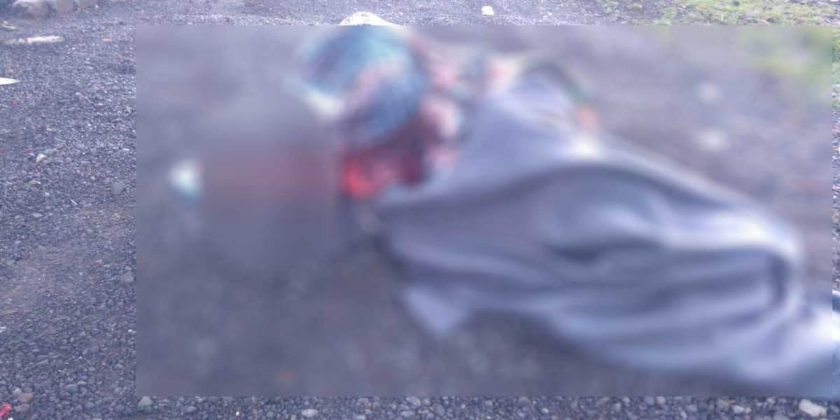 Cadáver localizado en el Corredor de la Montaña era de un hombre reportado como desaparecido