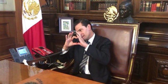 Peña le dice a Chumel Torres 'te voy a extrañar' (Video)