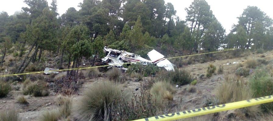 Cae en Puebla avioneta que despegó de Pachuca; tres muertos