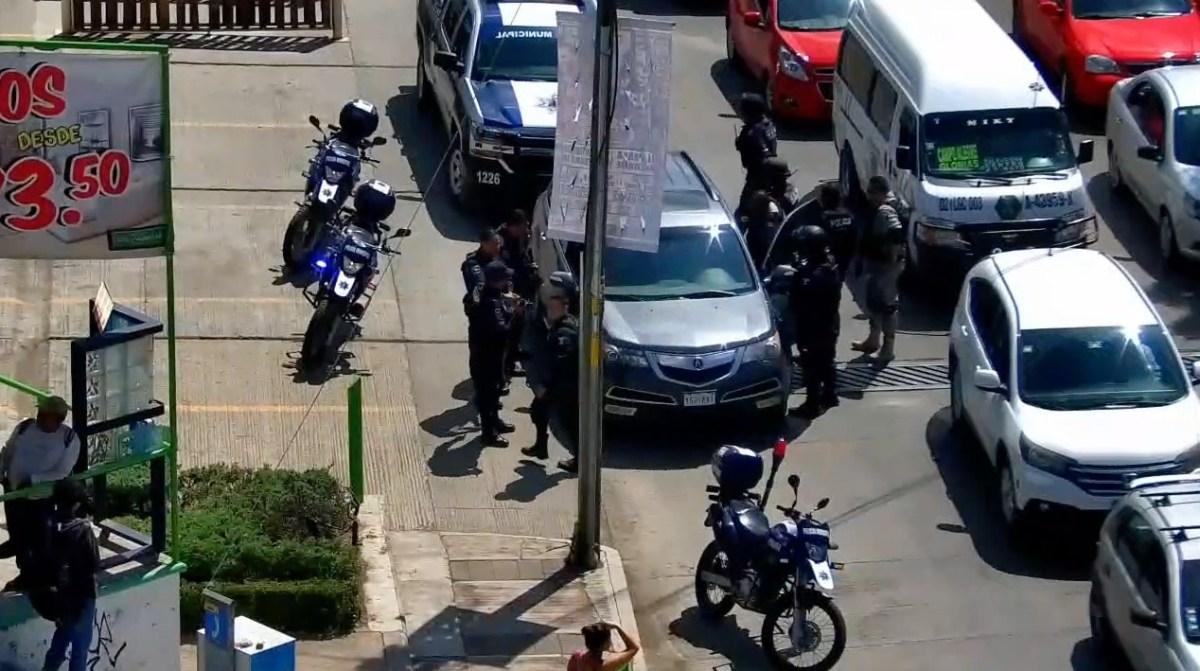 Detienen a cinco por presunto robo a domicilio en Tulancingo (VIDEO)