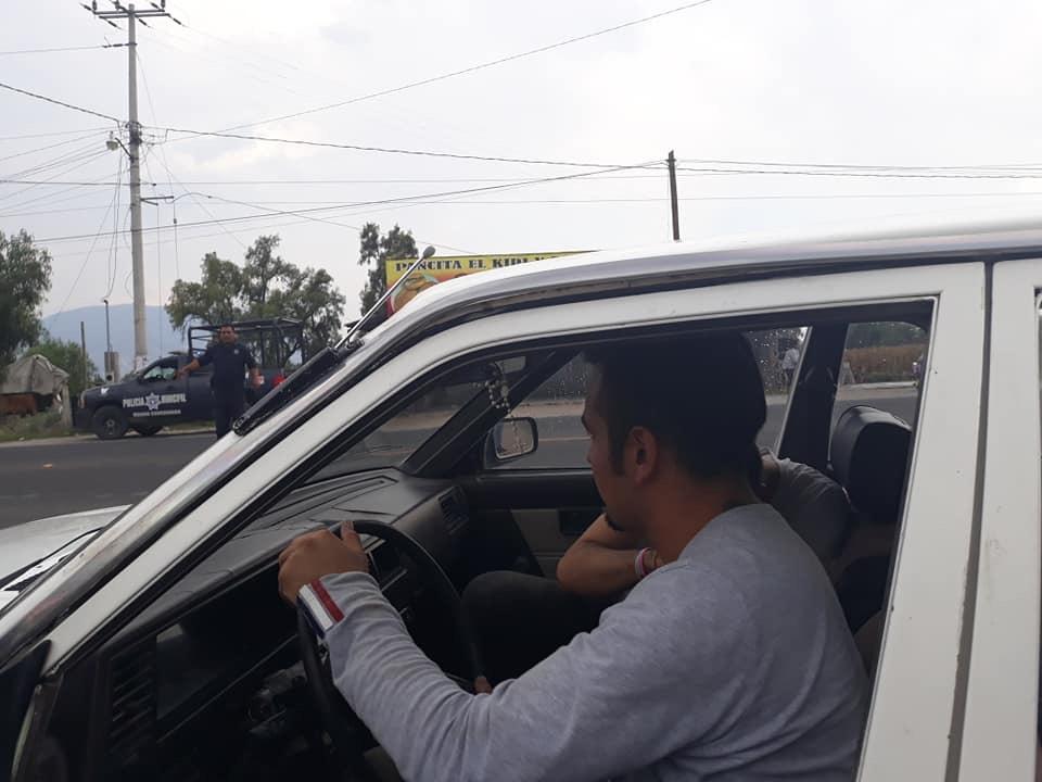 Localizan vehículo robado en Actopan; cuatro detenidos