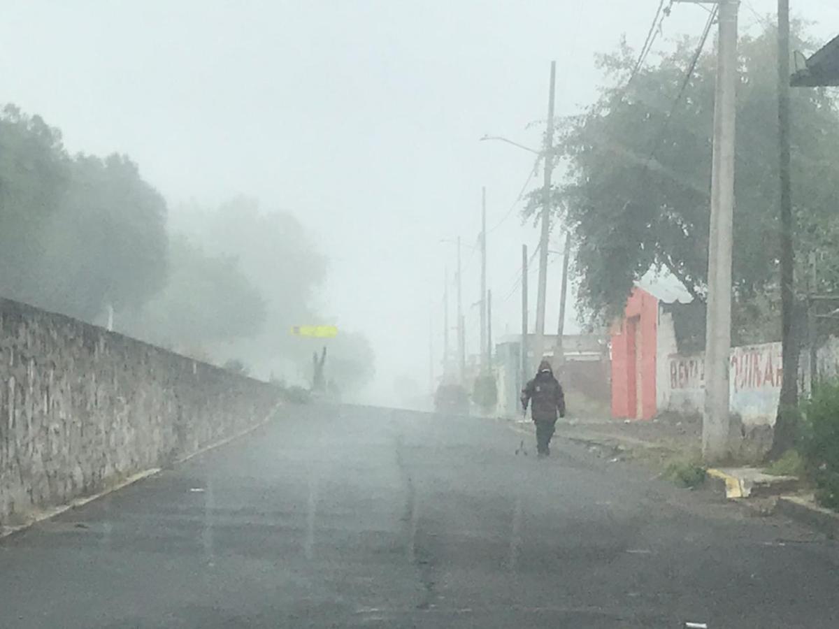 Este jueves se registrarán temperaturas de 0 a 5 grados en Hidalgo