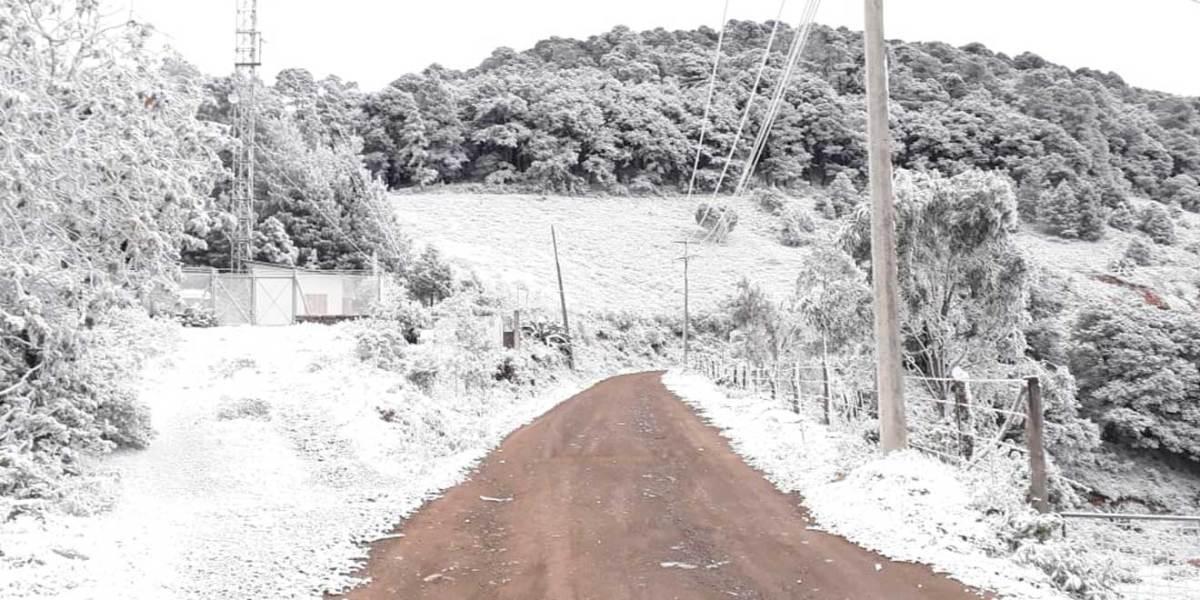 Temperaturas de hasta -5 grados durante las próximas horas en Hidalgo