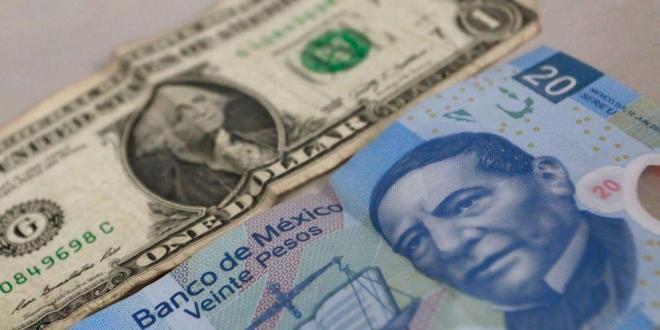 Cierra el dólar en 20.40 pesos a la venta y 19.55 a la compra