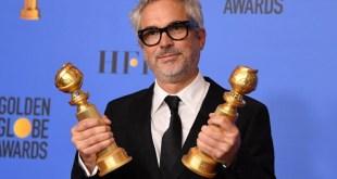 Gana Alfonso Cuarón el Globo de Oro por Mejor Director